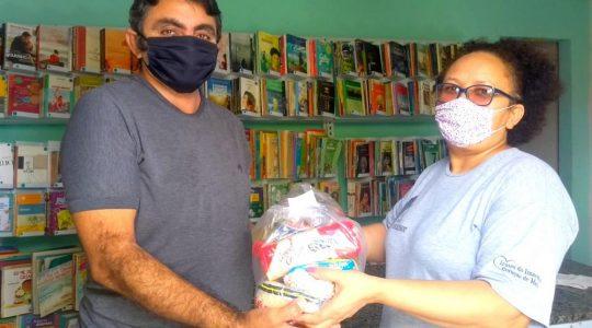 Alimentos, produtos de higiene e máscaras - a ação solidária das Irmãs ICM em João Pessoa (PB)